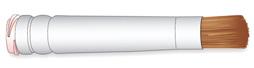 Soft Bristle Brush Dispensing Tips