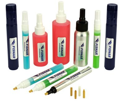 Hand Dispensing Flow Seal Flux Pens and Bottles