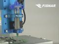 Solder Paste on PCB with Syringe