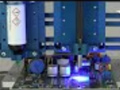 Syringe Dispense on PCB with UV Light Cure